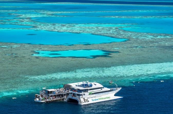 Great barrier reef day cruise to reefworld in shute harbour 553724