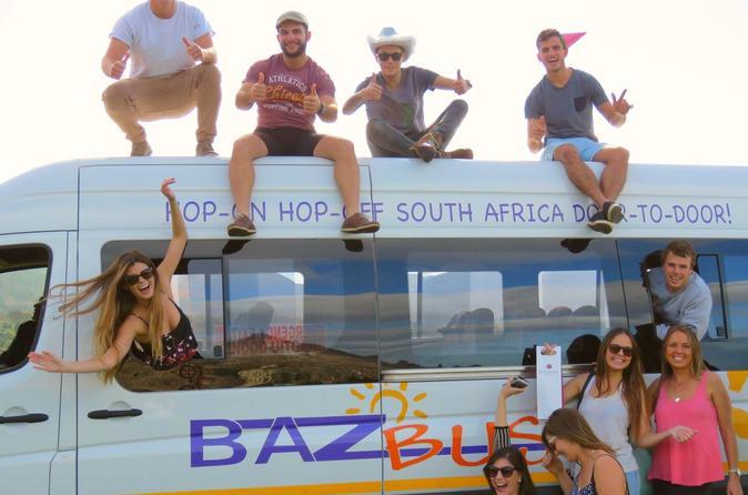 7-Day Pass Hop-on Hop-off Baz Bus Travel Pass-Port Elizabeth Departure