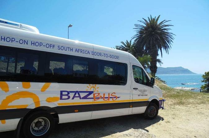 One-Way Hop-on Hop-off Bus from Port Elizabeth to Cape Town