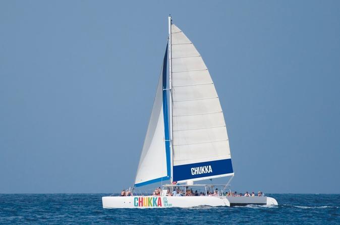 Cruzeiro de Catamarã da Jamaica para as Cataratas do Rio Dunn em Ocho Rios ou Montego Bay