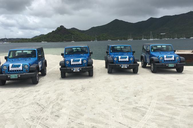 Simpson Bay 4x4 Island Sightseeing Tour in St Maarten Sint Maarten (Netherlands), Caribbean