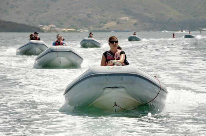 Simpson Bay St Maarten Self-Drive Boat Tour with Snorkeling Sint Maarten (Netherlands), Caribbean