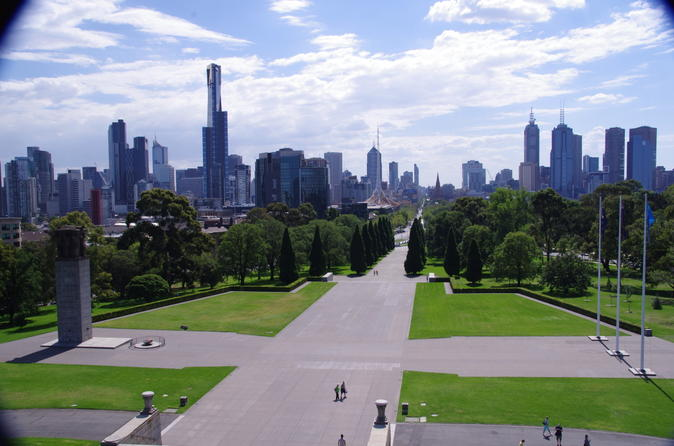 Melbourne City Full-Day Tour Including Lanes and Arcades Walk