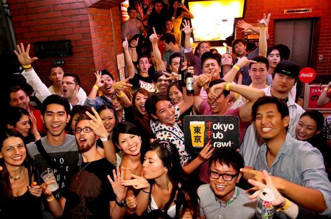 Pub Crawl em Tóquio