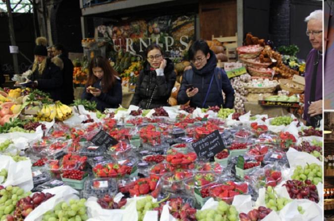 Traditional English Food Tasting Walking Tour in London