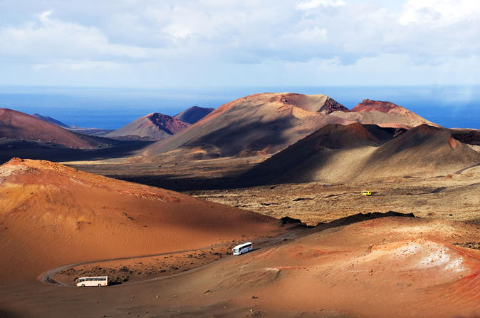 Lanzarote volcano and wine region tour from fuerteventura in corralejo 374470