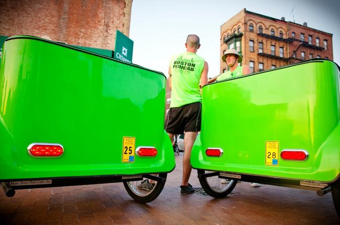 Bustling Back Bay Pedicab Tour