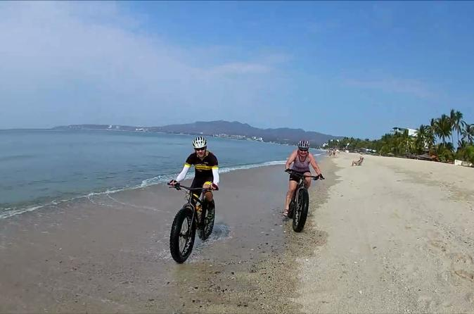Enjoy A Long Fat Bike Ride On The Beach You Will Be Riding Along Side Ocean Starting From Nuevo Vallarta And To La Cruz De