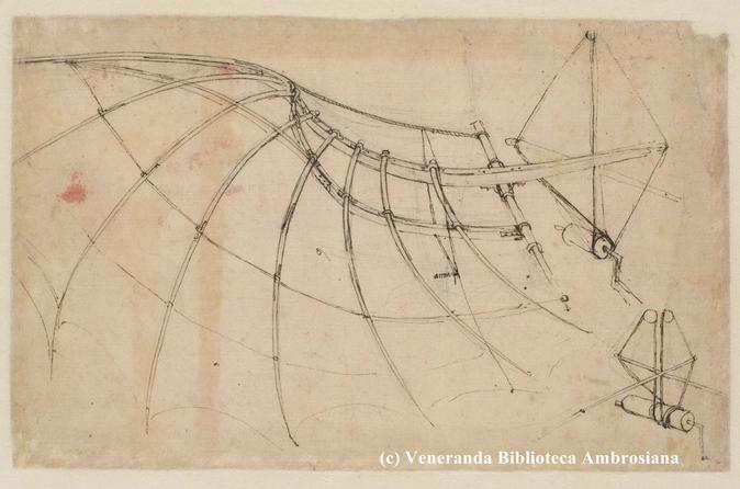Leonardo da Vinci's Codex Atlanticus Admission in Milan