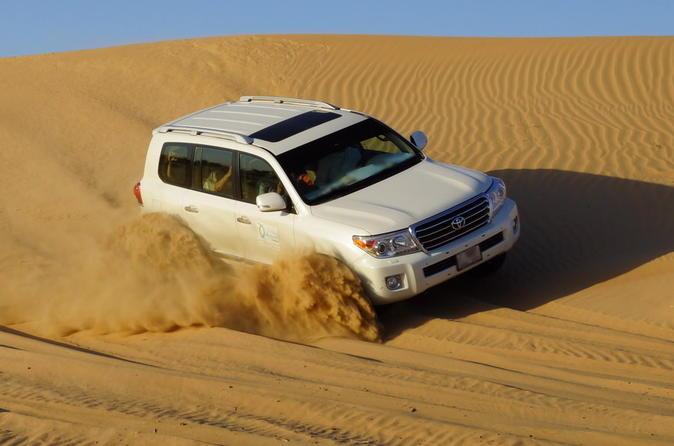 Exhilarating Desert Safari Including BBQ Dinner from Dubai