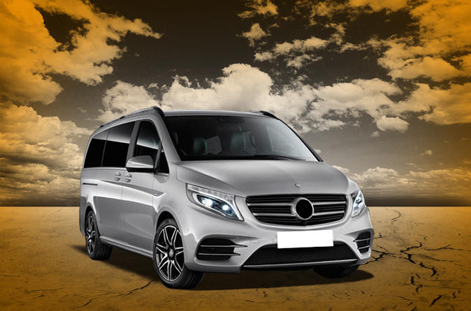 Private Luxury Van Arrival Transfer: Pulkovo Airport St Petersburg to Saint Petesburg Hotel