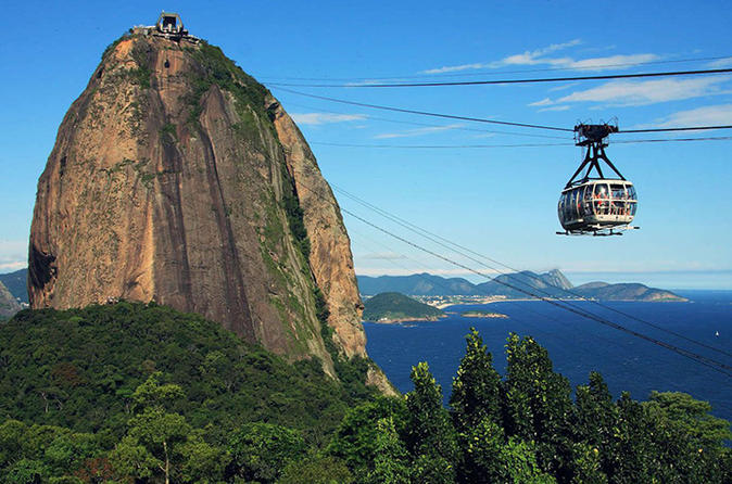 Private Rio de Janeiro Half-Day Sugar Loaf and City Tour