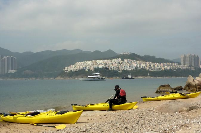 Sea kayak beautiful Tai Tam Bay and explore historic Stanley Village