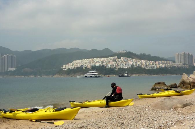 Sea kayak beautiful Tai Tam Bay and explore historic Stanley Village