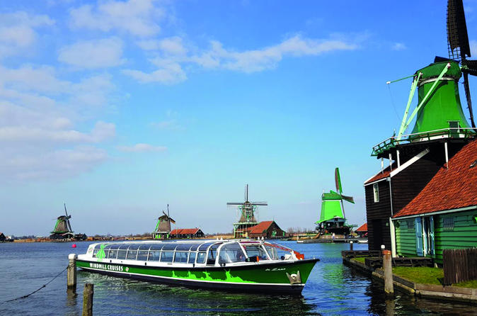 Dutch Countryside Hop-On Hop-Off Bus Tour From Amsterdam And Zaanse Schans Cruise