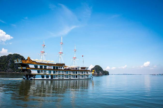 Dragon Legend Halong Bay 3-Day-2-Night Cruise From Hanoi