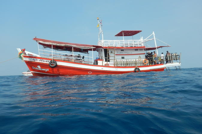 Full day dive adventure in national marine park koh rang including 2 in koh chang tai 362033