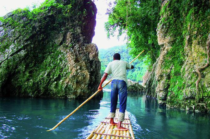 Blue Lagoon, Monkey Island and Rio Grande Rafting Tour