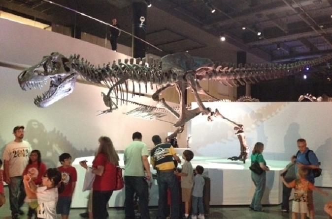 Entrada geral do Museu de Ciências Naturais de Houston