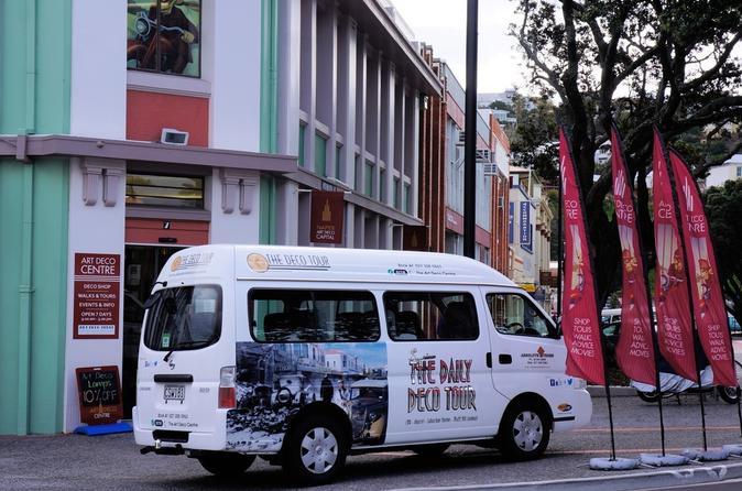 Art deco bus tour of napier in napier 405259