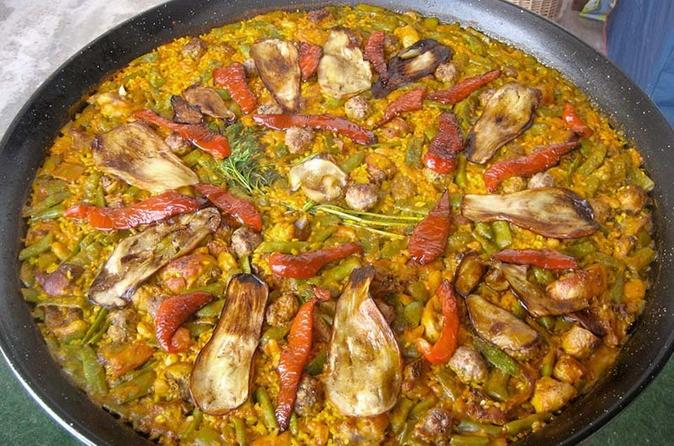 Historical Tour of Valencia with Paella