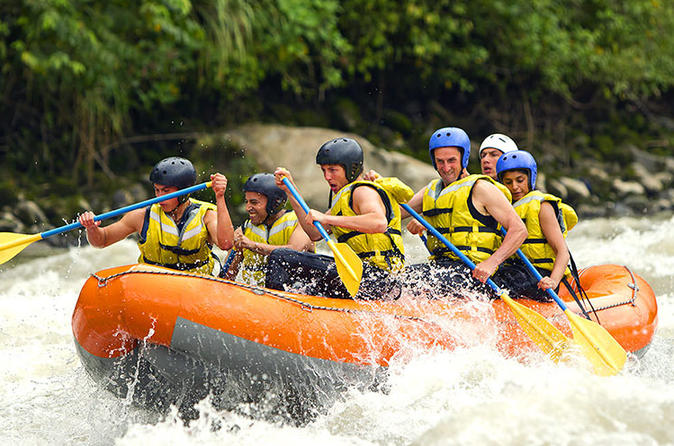Bali Rafting and  Private Combination Ubud Tour""