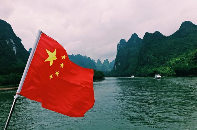 1 Day Relaxing Li River Cruise Tour - Guilin