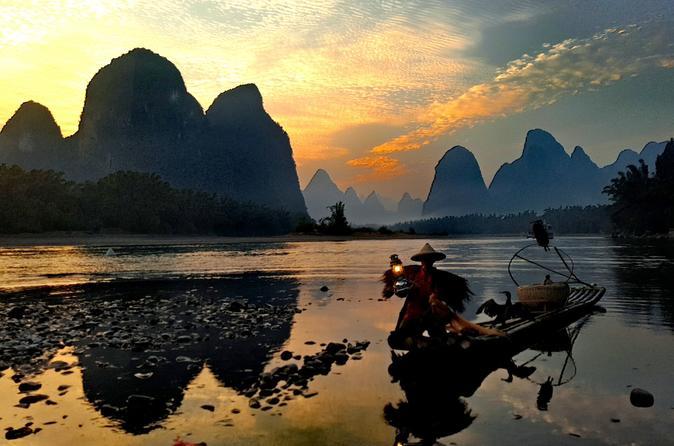 Half-day Yangshuo Xingping Fishing Man Show & Sunset Private Tour