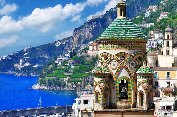 Discovering the Amalfi Coast: day trip from Naples or Sorrento