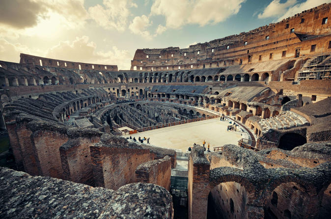 Kids Private Tour of Colosseum with Gladiator entrance and Ancient Rome