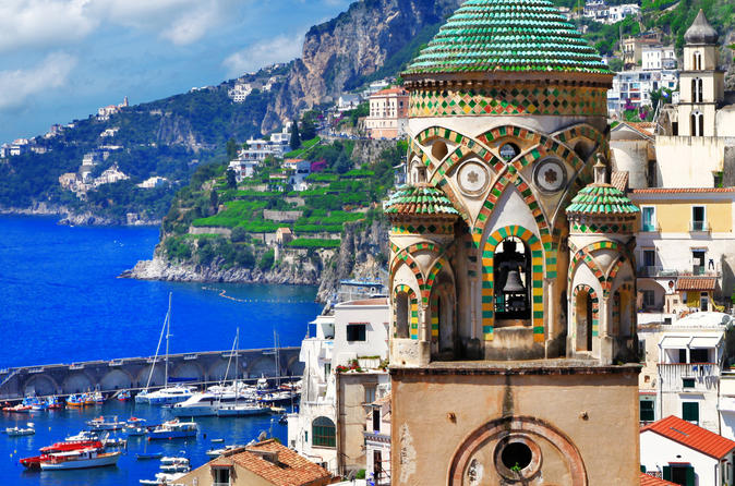 Shore Trip to Pompeii and Amalfi Coast from Naples Port