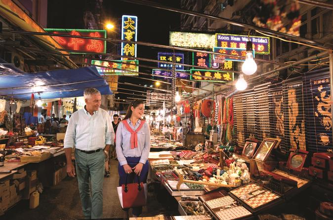 Hong Kong Night Tour: The Illuminated City and Harbour