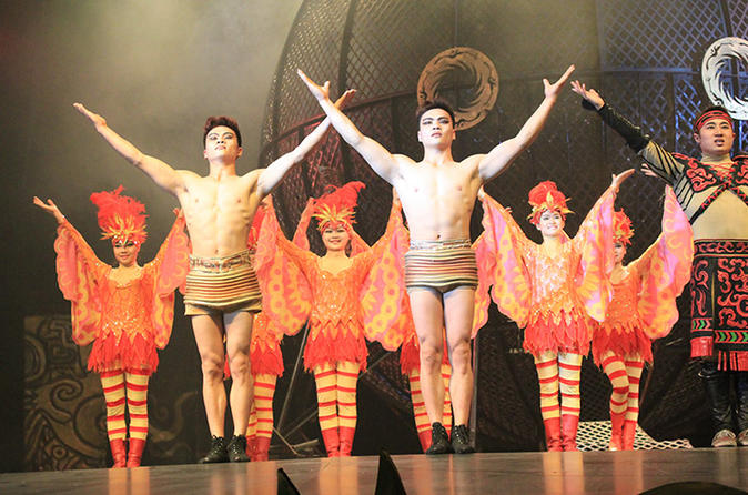 Shanghai ERA Acrobatics Show with VIP Seating and Private Transfer