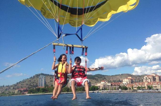 Tandem Parasailing For You And A Friend - Kelowna