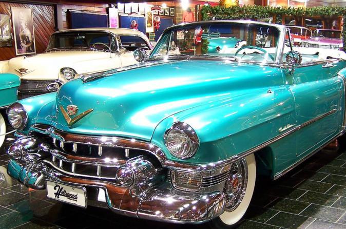 Ingresso para o Hollywood Dream Cars