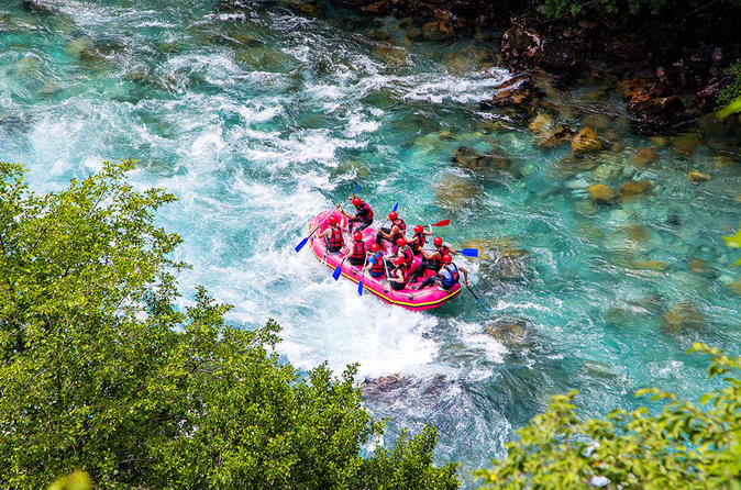 White water rafting on river tara from budva or becici and petrovac in budva 425349