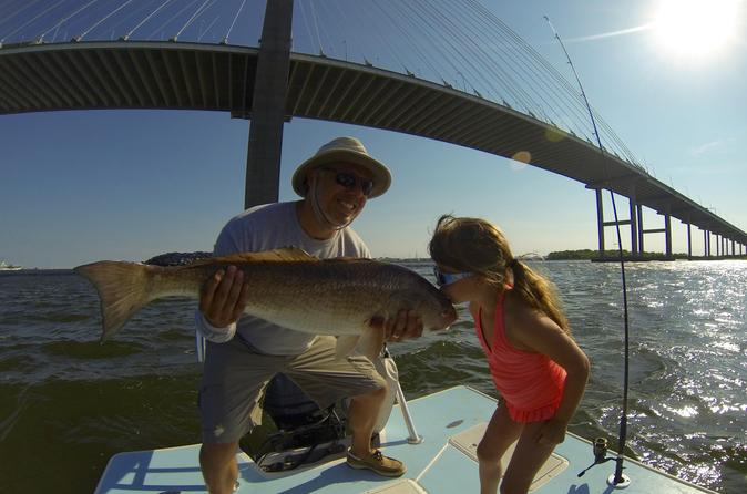 Private 4-Hour Inshore Fishing Charter in Charleston