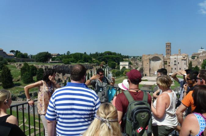 Rome in a Day Small Group Tour with Vatican & Colosseum