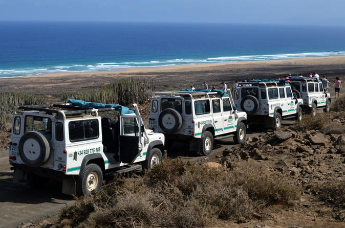 4x4 Jeep Safari-Tour in Cofete Beach und Villa Winter