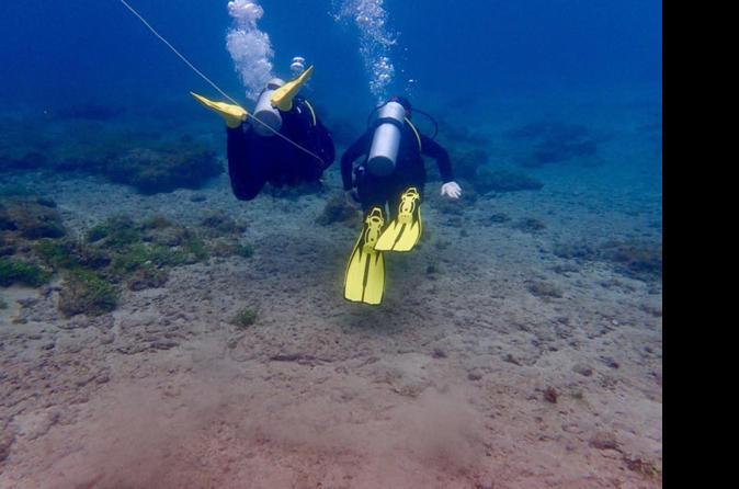 Double Scuba Diving Submersion At Marine Reserve Of El Cabrón - Palma De Mallorca
