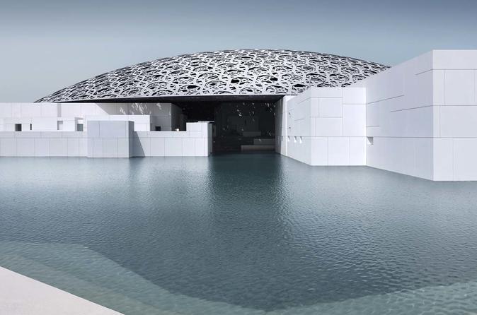 Excursão pelo Museu do Louvre em Abu Dhabi e pela Grande Mesquita saindo de Dubai