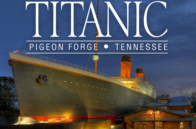 Image result for titanic museum pigeon forge