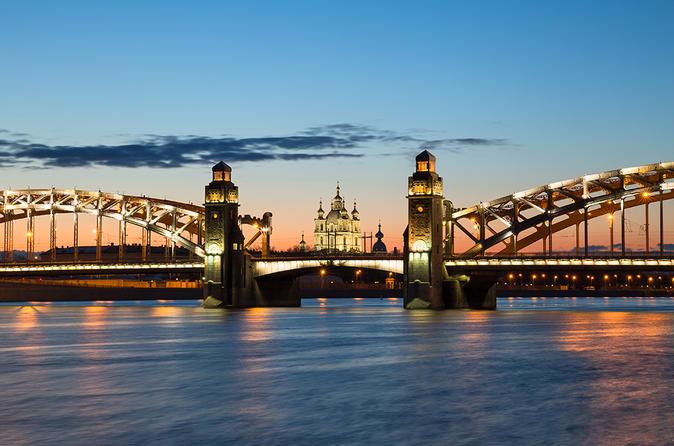 Amazing Tour to Saint Petersburg Neva River Cruise