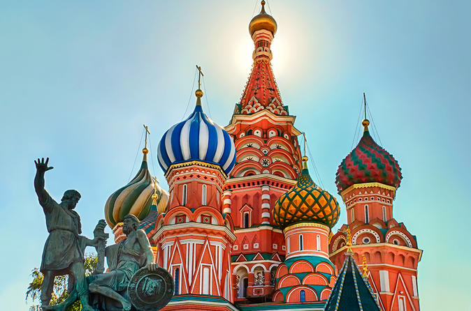 City Bus or Car Tour to Incredible Moscow