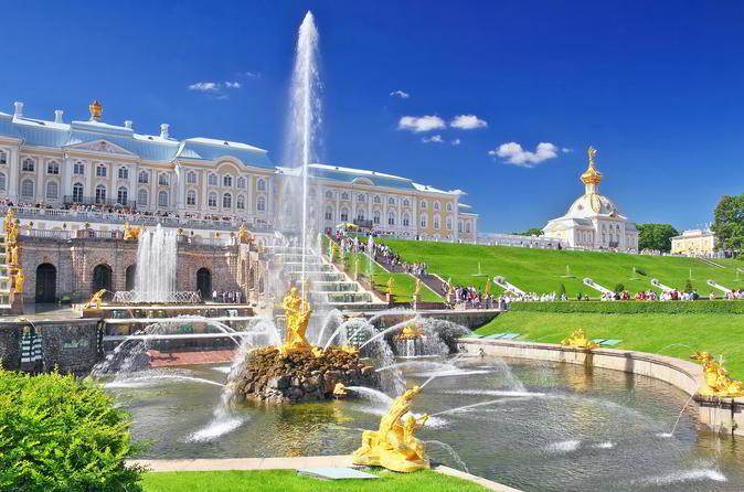 Half Day Tour to Peterhof from Saint Petersburg