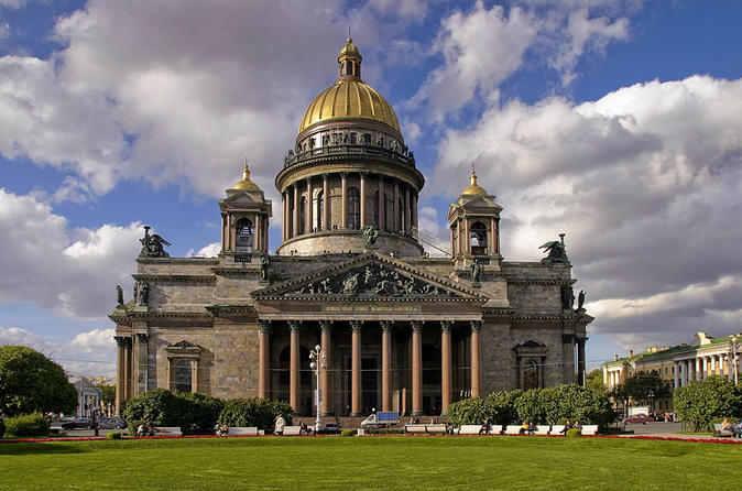 St. Petersburg Cathedral Tour to Saint Isaac Cathedral State Museum-Memorial and Others