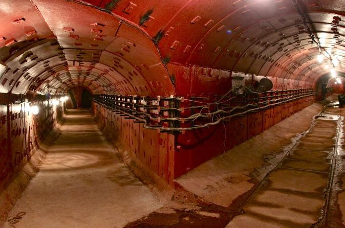 The Cold War Museum Bunker 42 Tour Moscow Russia