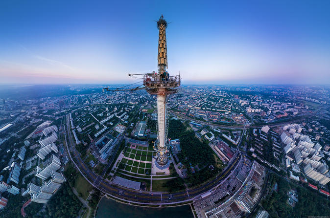 Tour to Tv Tower Ostankino and VDNKh in Moscow Russia