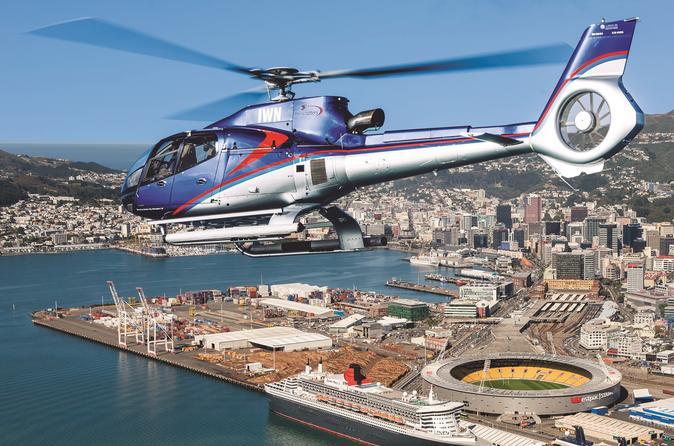 15-Minute Wellington Harbour Helicopter Flight
