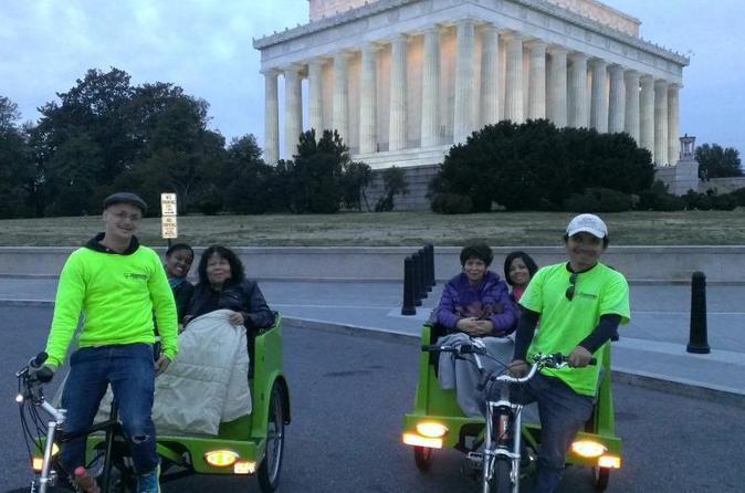 DC Monuments and Memorials Pedicab Tour